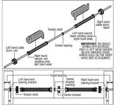 Garage Door Torsion Spring Winding Bars by Garage Garage Door Torsion Spring Adjustment Home Garage Ideas