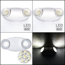 bug eye exit lights 2pc general led emergency exit light back up two head bug eye