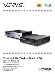 fusion 430 u0026 fusion black 430 en manual usb electrical connector