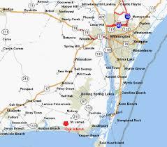 south carolina beaches map southport and oak island carolina map and directions