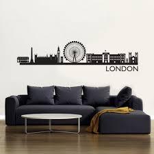 london skyline wallsticker fra kun 186 75 kr london skyline wallsticker wallsticker