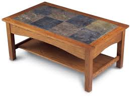 Slate Top Coffee Table Wonderful Tile Top Coffee Table High Quality Slate Tile Coffee
