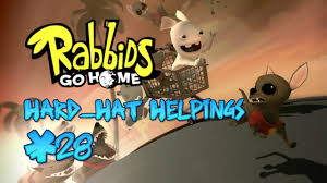 Home Design Wii Game by Rabbids Go Home Wii Part 28 Hand Hat Helpings Youtube
