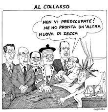 Berlusconi al capezzale dell'Italia