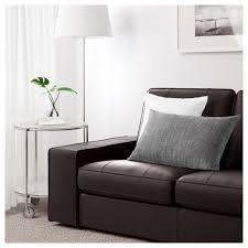 ikea double bed kivik sofa grann bomstad dark brown ikea
