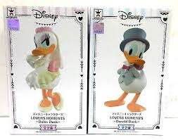 banpresto disney lovers moments donald duck u0026 daisy duck 2