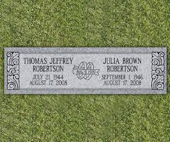 flat headstones for floral flat grave markers search tombstones and