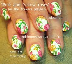 vintage white nails with antique roses shabby chic nail art