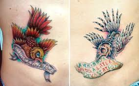 awesome tatts by my man tom ouellette kustom kulture tattoos