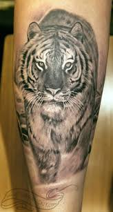 3d black and white bengal tiger