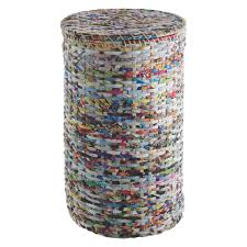 Tall Laundry Basket Stylish Cute Cohen Multi Coloured Recycled Magazine Laundry Basket Laundry