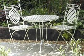White Metal Patio Chairs Metal Garden Furniture Sets Black Metal Patio Furniture Sets With