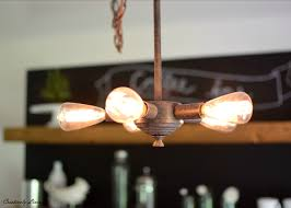 Dining Room Lighting Fixture Dining Room Light Fixture Makeover Stripping Down Creatively