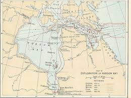 Henry Hudson Route Map by The Distributed Proofeaders Canada Ebook Of An Historical Atlas Of