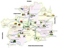 China Province Map Guizhou Map Guizhou Province Map Guizhou Tourist Map Map Of