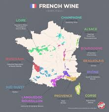 Maps France by France Wine Map Recana Masana
