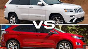 nissan murano vs ford explorer 2016 jeep grand cherokee vs 2016 ford edge youtube
