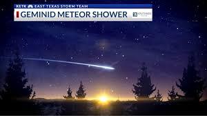 bureau meteor geminid meteor shower peaks tonight myeasttex