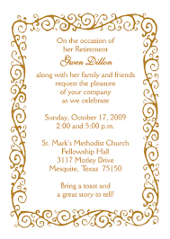 retirement invitations paper retirement invitation cards one sided modern designing
