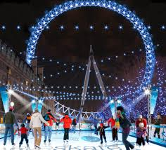 where can i go ice skating in london this christmas from somerset