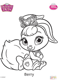 Palace Pets Pumpkin by Palace Pets Berry Coloring Page Free Printable Coloring Pages