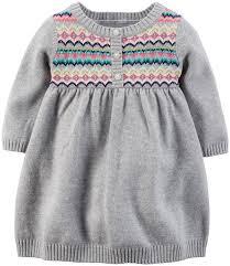 fair isle sweater dress amazon com s baby fairisle dress baby