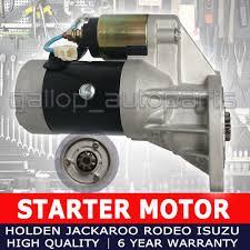 rodeo tf starter motor fit holden 4wd diesel 2 8l 4jb1t u0026 2 5l