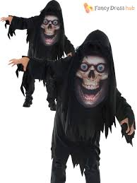 boys mad creeper zombie reaper horror halloween costume kids child