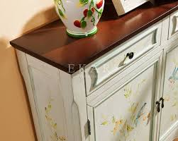 chinese shrine cabinet console cabinet with crystal pull handle