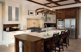 Pictures Of Kitchen Islands With Sinks Charming Kitchen Island With Pot Rack Bar Sink Chrome Single