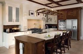 charming kitchen island with pot rack bar sink chrome single