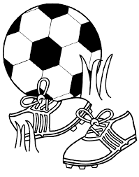 Printable Soccer Coloring Pages Coloring Me Soccer Coloring Page