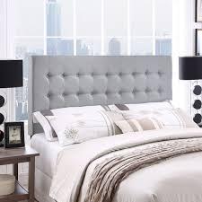 upholstered headboard queen bed u0026 headboards