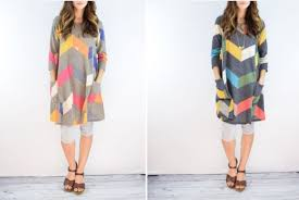 grab a trendy for under 31 chevron knit tunic jean
