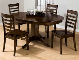 furniture fascinating round dining table leaf mahogany oval gray