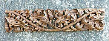 carved oak running ornament castle wood carvers and gilders