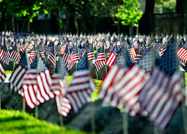 Memorial Day American Flag Photos