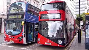 first day of new routemasters on london bus route 9 26 october