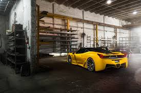 ferrari yellow car dub magazine mc customs ferrari 458 italia