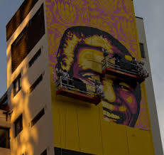 pics the purple shall govern new shepard fairey mural in graffiti south africa the definitive african graffiti and street art website
