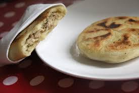 recette de cuisine salé les pancakes salées farcies à la viande de beau à la louche