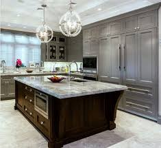 what color countertops go with wood cabinets countertop ideas for gray kitchen cabinets