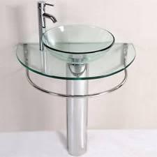 Glass Bathroom Vanity Glass Bathroom Vanity Sink Ebay