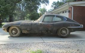 for restoration for sale 1964 jaguar e type barn find