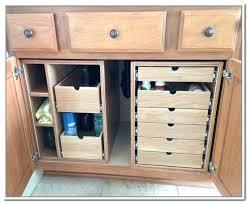 bathroom sink storage ideas under cabinet storage kitchen sink storage ideas under sink