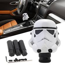 universal car manual gear stick shift lever knob helmet clone