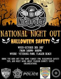 flagler county national night out 2017 flagler county family fun
