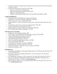 Minister Resume Sample by Church Youth Group Leader Resume Contegri Com