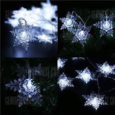 decorative snowflake lights wanker for