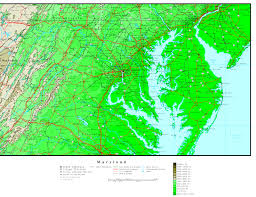 Maryland Counties Map Maryland Free Map